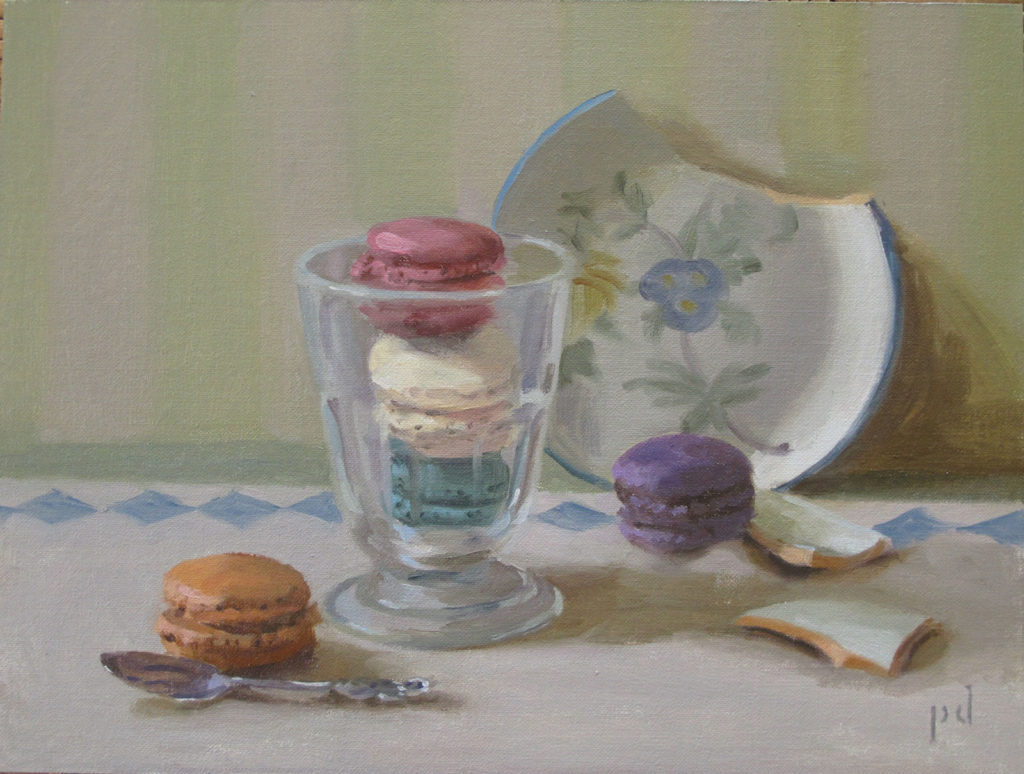 Macaron Allegory copyright 2016 Dickison