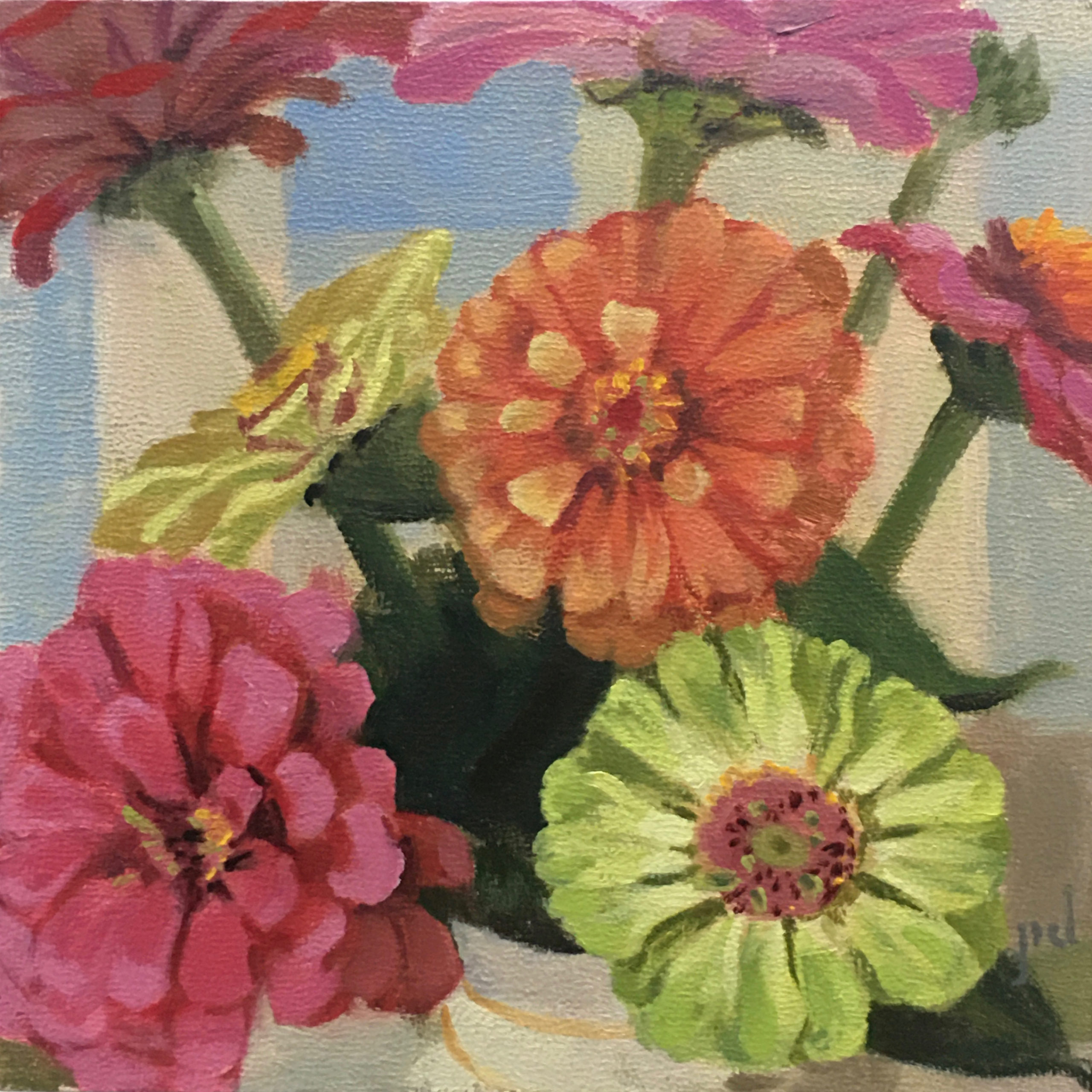 Zinnia Bunch