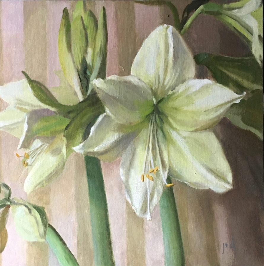 Winter Verdant Oil Painting Copyright Peter Dickison 2021